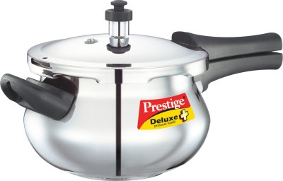 SS Deluxe Plus Mini Stainless Steel 3.3 L Pressure Cooker (Induction Bottom, Outer Lid)