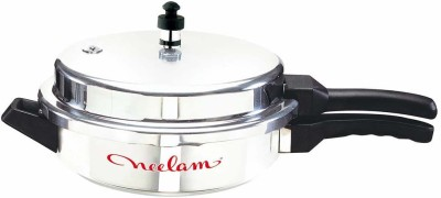 Neelam ss pan-Junior 3 L 3 L Pressure Pan (Induction Bottom, Stainless Steel)
