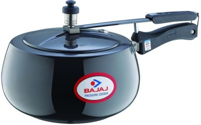 Bajaj Handi Anodized Induction Base PCX 63HD 3 L Pressure Cooker (Induction Bottom, Aluminium)