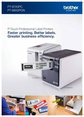 Brother PT-9700-PC Single Function Printer (White)