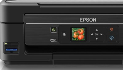 Epson L455 Wifi with Memory card Multi-function Printer (Black)