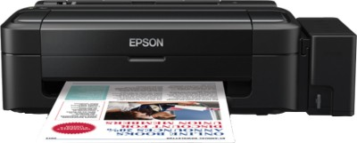 Epson - L110 Single Function Inkjet Printer Black