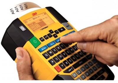 Dymo Rhino_4200 Single Function Printer (Yellow Black)
