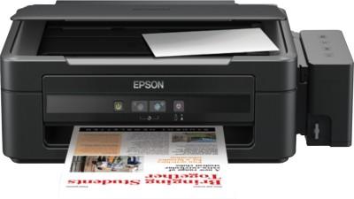 Epson - L210 Multi-function Inkjet Printer Black