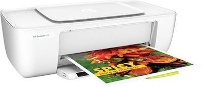 HP DeskJet 2132 All-in-One(F5S41D) Multi-function Printer (White)