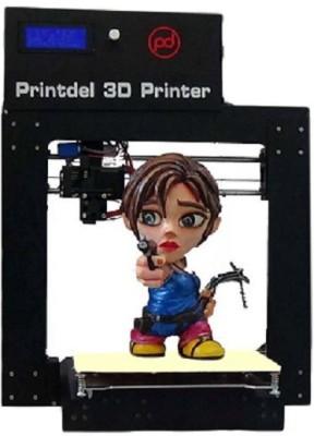 Printdel 3D Desktop 3D Printer Multi-function Printer (Black)