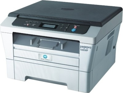 Konica Minolta Pagepro 1580MF Multi-function Printer (White & Grey)