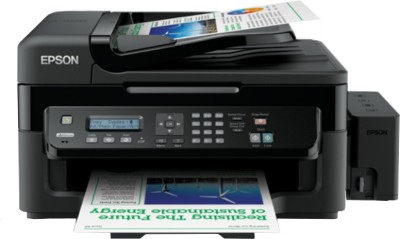 Epson - L550 Multi-function Inkjet Printer Black
