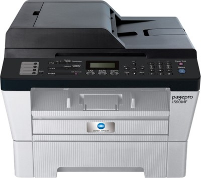 Konica Minolta Pagepro 1590MF Multi-function Printer (White & Grey)