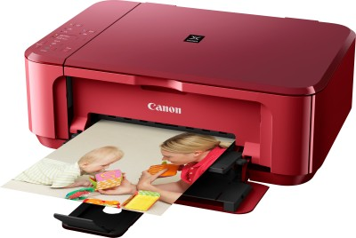 Canon PIXMA MG3570 All-in-One Inkjet Wireless Printer (Red)