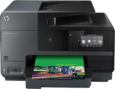 HP Officejet Pro 8620 e Multi-function Printer (Black)