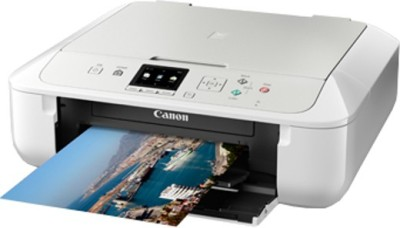 Canon Pixma MG5770 Wireless Multi-function Printer (White & Silver)