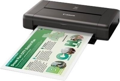 Canon iP110 Single Function Printer (Black)