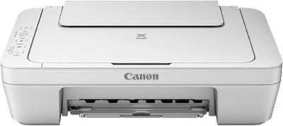 Canon PIXMA MG2570 Without Both Cartridge ( PG-745, CL-746), Only Multi-function Printer (White)