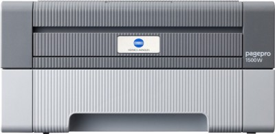 Konica Minolta Pagepro 1500W Single Function Printer (White & Grey)