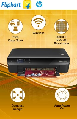 HP Deskjet Ink Advantage 3545 All-in-One Wireless Printer (Black)