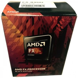 AMD 3.8 GHz AM3+ FX-4300 FX-Series Four-Core Edition FD4300WMHKBOX Processor