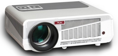 Play Pp-002 Portable Projector (White,Light Grey)