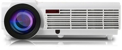 Play PP 001 Quad core Android 4.4.2 WiFi Smart 1080P 3D Full HD LCD LED Home theater Portable Projector (White)