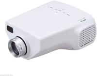 "Influx GoProâ""¢ LED LCD Mini Home Theater Movie Cinema HD 1080P HDMI VGA AV Portable Projector (White)"