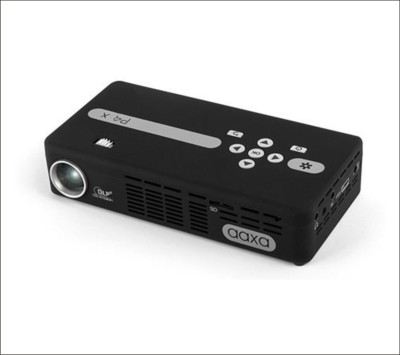 Aaxa P4 X -LED 95 Portable Projector (Black)