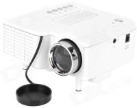 Zaicus Portable Multimedia Connect With HDMI/VGA/AV/USB/SD. Portable Projector (White)
