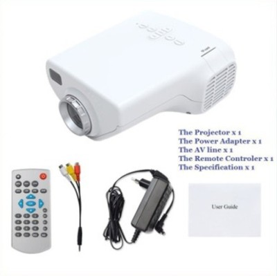 Samyu 100Lm Portable Projector (White)