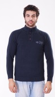 Oracle High Neck Solid Men's Pullover