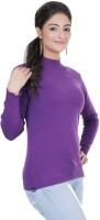 Renka Round Neck Solid Women's Pullover - PLODZYXFHUHBX6GH