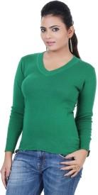 Renka V-neck Solid Women's Pullover