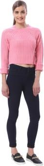 Vero Moda Round Neck Solid Women's Pullover