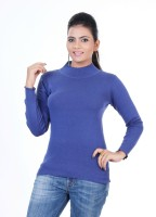 Renka Round Neck Solid Women's Pullover - PLODZYXFPCZNKH7S