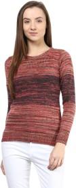Species Round Neck Striped Women's Pullover