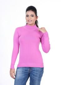 Renka Round Neck Solid Women's Pullover