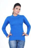Renka Round Neck Solid Women's Pullover - PLODZYXFCD5G6HFA
