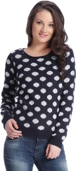 Only Round Neck Printed Women's Pullover - PLOEBPZ6MSC7BEYQ