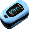 Newnik Px701 Pulse Oximeter Fingertip Pulse Oximeter - Blue & Black