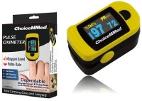 ChoiceMMed MD300C20-OTC With Carrying Case Pulse Oximeter (Yellow)