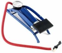 Cyclex Foot Air Heavy Compressor 8cm Cylinder Bicycle Pump (Blue)