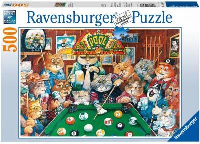 Funskool Puzzles Funskool Ravensburger Pool Hall Cats