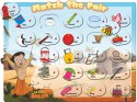 Prasima Toys Chhota Bheem Match The Pair Puzzle - 21 Pieces