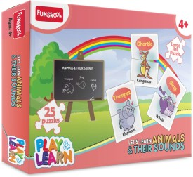 Funskool Play & Learn - Animals & Their Sounds