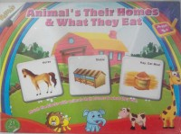 Toy Corner Ratnas Animal'S Their Homes & What They Eat … (1 Pieces)