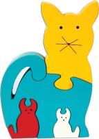 Skillofun Skillofun Take Apart Puzzle Cat Family