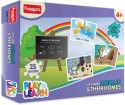 Funskool Play & Learn - Animals & Their Homes - 25 Pieces