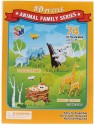 Magic Puzzle Animal Family Series 3D Puzzle - 74 Pieces