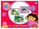 Funskool Nickelodeon Dora The Explorer 3-in-1 Puzzle - 24 Pieces