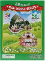 Magic Puzzle Mini House 3D Puzzle - 56 Pieces