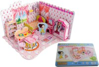Djuize 3d Jigsaw Puzzle Doll House (51 Pieces)
