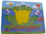 SH Puzzles SH Frog Cartoon